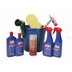 Promotional deluxe teflon car cleaning set