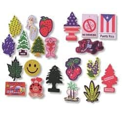 custom printed car air fresheners