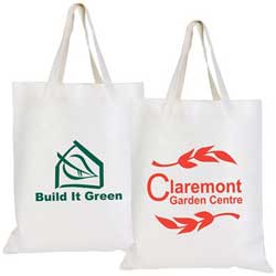 Promotional Short Handle Recycled Bamboo Bags