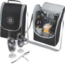 Promotional Utah 2 Bottle Wine Cooler Set